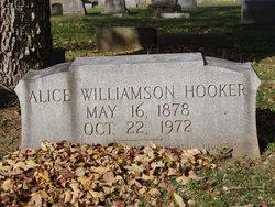 Alice <i>Williamson</i> Hooker