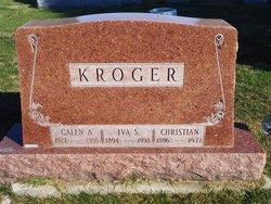 Iva Sarah <i>Miller</i> Kroger