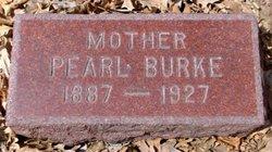 Pearl Sarah <i>Canaday</i> Burke