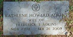 Kathlene <i>Howard</i> Adkins