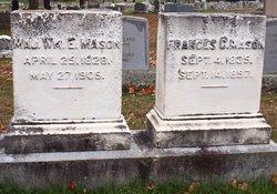 Maj William Emery Mason