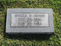 Myrtle D. Adams