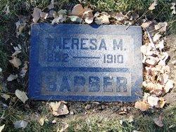 Theresa M Barber