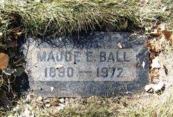 Maude E Ball