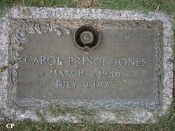 Carol <i>Prince</i> Jones