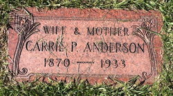 Carrie P. Anderson