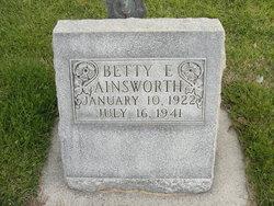 Betty E. Ainsworth
