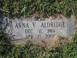 Anna Virginia <i>Schupfer</i> Aldridge