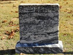 Bertha <i>Van Winkle</i> Ratliff
