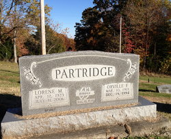 Lorene M <i>Pendleton</i> Partridge