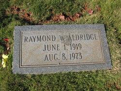 Raymond Wesley Aldridge