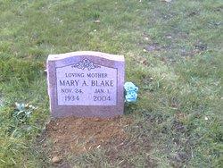 Mary A <i>Lawton</i> Blake