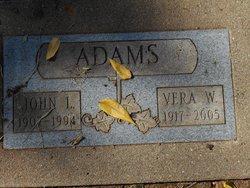 Vera <i>Leach</i> Adams