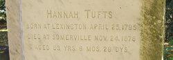 Hannah <i>Robinson</i> Tufts
