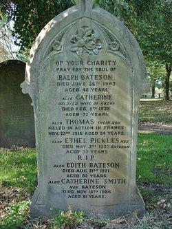 Catherine <i>Bateson</i> Smith
