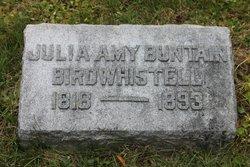 Julia Amy <i>Buntin</i> Birdwhistell