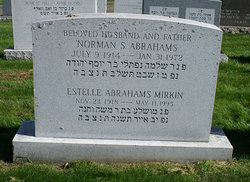 Estelle Stella <i>Stich</i> Abrahams-Mirkin