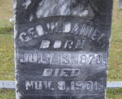 George W. Daniel