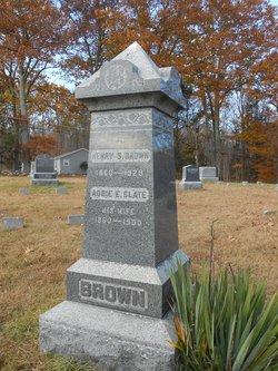 Addie E <i>Slate</i> Brown
