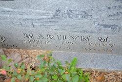 Marilyn Margaret <i>Newman</i> Webb