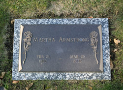 Martha Jean Marty Armstrong