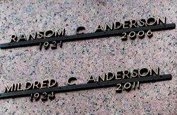Mildred C Millie <i>Miller</i> Anderson