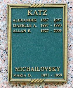 Alexander E. Katz