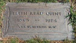 Edith R <i>Read</i> Quint