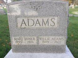 Mary <i>Hiner</i> Adams