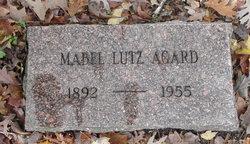 Mabel Eva <i>Lutz</i> Agard