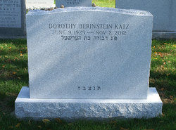 Dorothy <i>Berinstein</i> Katz