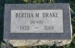 Bertha M <i>Laymon</i> Drake