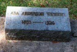Ada <i>Anderson</i> Webster