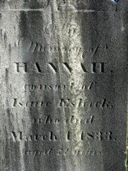 Hannah <i>Bourne</i> Esleeck