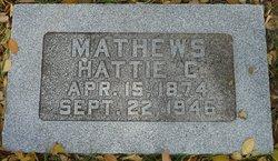 Hattie Cordelia <i>Lowrie</i> Mathews