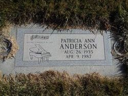 Laura Ann Patricia Pat <i>Gibson</i> Anderson