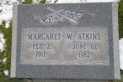 Margaret A <i>Webb</i> Atkins