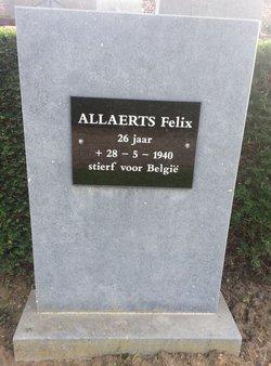 Pvt Felix Allaerts