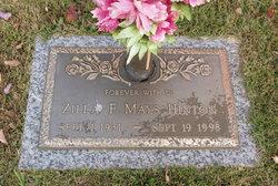 Zilla Florine <i>Mays</i> Hinton