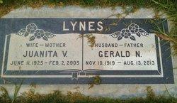 Juanita Viola <i>Spangler</i> Lynes