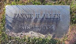 Fannie H. Allen