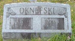 Emma Jane <i>Gardner</i> Oknefski