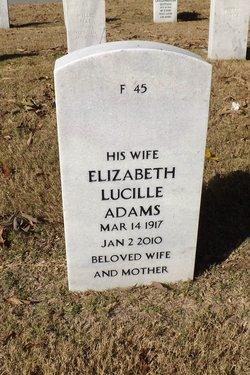 Elizabeth Lucille <i>Mercer</i> Adams