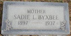 Sadie L. Byxbee