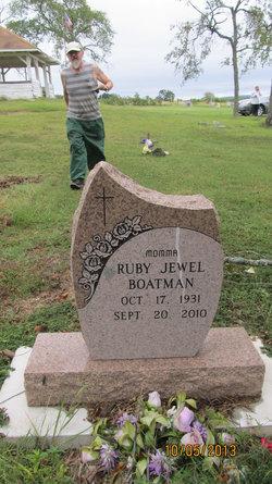 Mrs Ruby Jewel <i>Short</i> Boatman