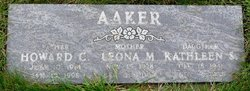 Leona M Aaker