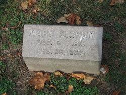 Mary Ophelia <i>Harding</i> Krum