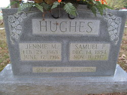 Nancy Jane Jennie <i>Mangrum</i> Hughes