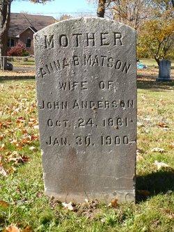 Anna B. <i>Matson</i> Anderson