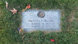 Martha R. <i>Reynolds</i> Brady
